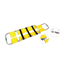HS-E003 first aid 6 plates folding spoon stretcher
