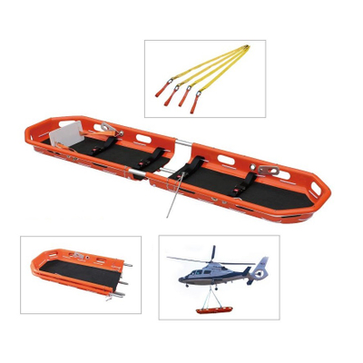 HS-F002 First aid separated mountain rescue basket stretcher