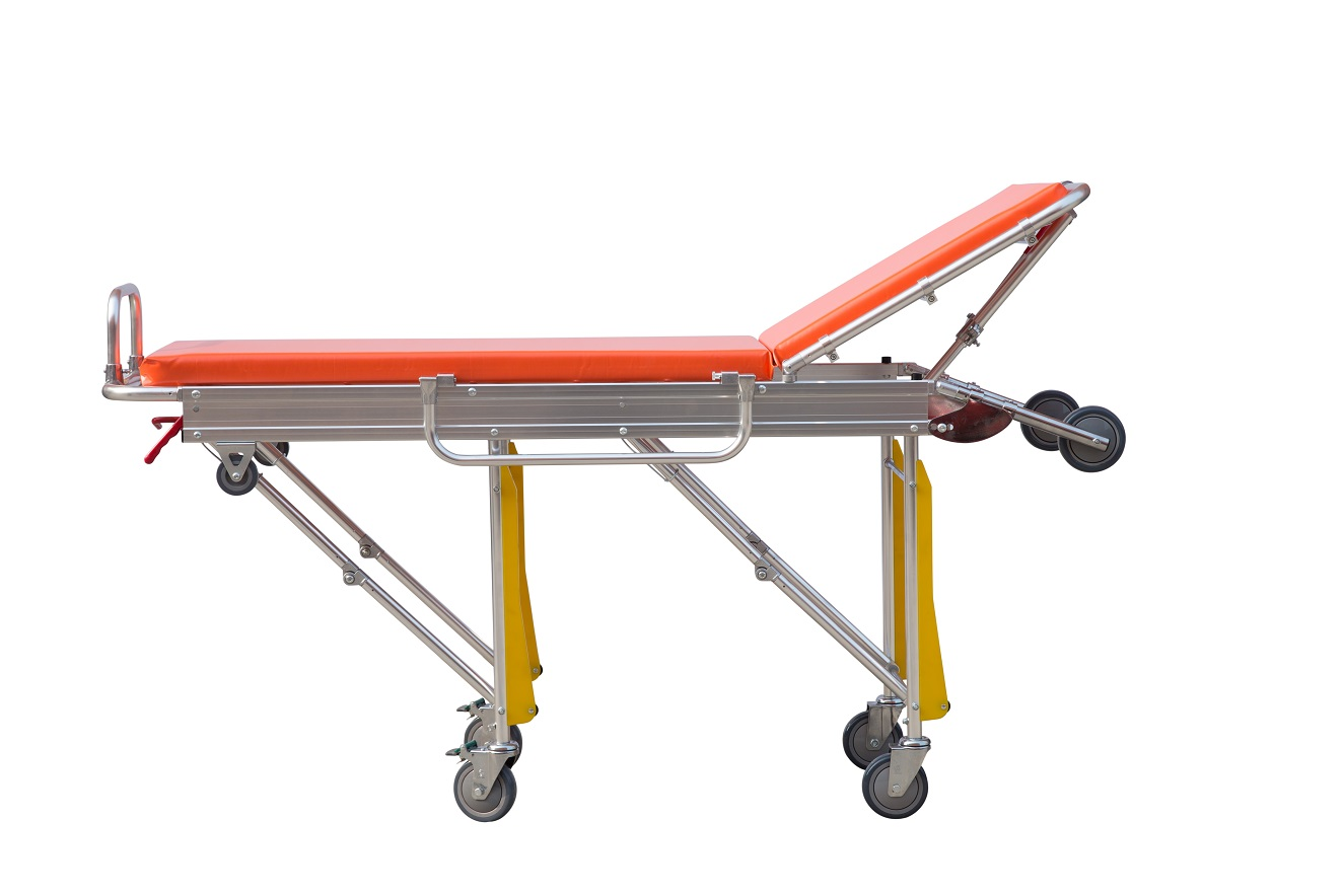 HS-D007 Automatic loading emergency ambulance stretcher